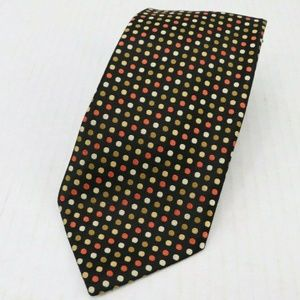Charvet Place Vendome Silk Geometric Neck Tie